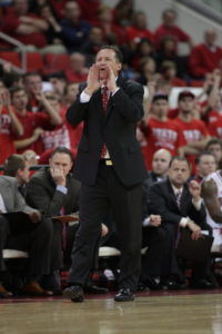 Coach Mark Gottfried, NC State Media Relations