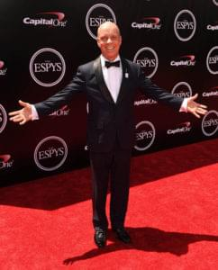 Los Angeles, CA - July 13, 2016 - LA Live: Scott Hamilton on the ESPYS red carpet (Photo by Joe Faraoni/ESPN Images)